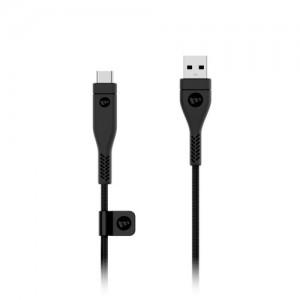 Mophie Pro 2.0 Cable Series 2m USB-a to USB-c - Black (MPH-3611-PRO2-AC-2M)