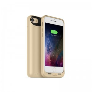 Mophie iPhone 8/7 Juice Pack Air 2,525 Mah Battery Case - Wl Charge - Gold (MPH-3968-JPA-IP7-G)