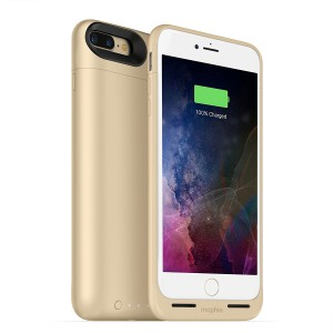Mophie iPhone 8/7 Plus Juice Pack Air Battery Case - Wl Charge - Gold - 2420 mAh