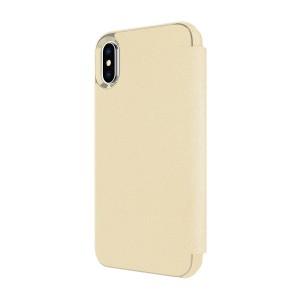 Kate Spade Ny Iphone X Wrap Folio Case - Saffiano Gold (KSIPH-083-SGLD)
