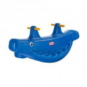 Little Tikes - Classic Whale Teeter Totter Blue - 4879