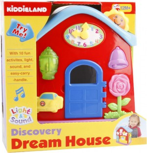 Kiddieland - Light N Sound Activity Play House - 49510