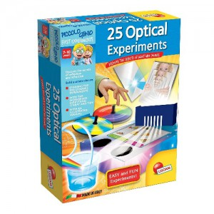 Lisciani- Piccolo Genio 25 Optical Experiments -E50161