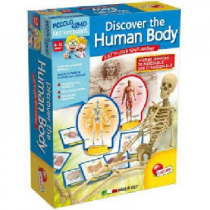 Lisciani - I'm Genius! Discover the Human Body - E50147