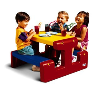 Little Tikes - Primary Picnic Table - 4795