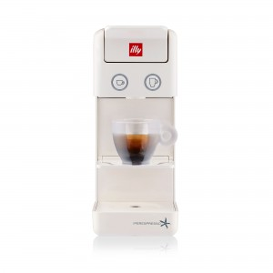 illy - Y3.2 Espresso Machine White Ipso Home - 60288