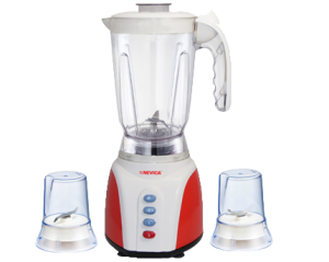 Nevica Blender With 2 Jars- (Wet & Dry Grinders)- 3 in 1 - NV-643BG