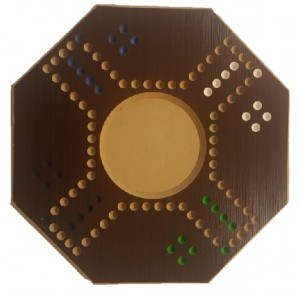 Jackaro 4 Players Circle Shape medium  - Brown