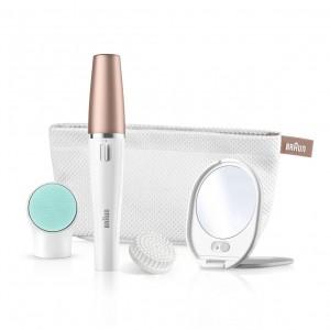 Braun face spa SE851 V (Velvet edition W/lighted mirror & beauty pouch)  - SE851V