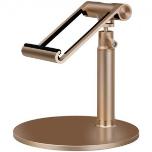 Momax - Luxury Metal Stand Holder for iPad and Tablet - Gold