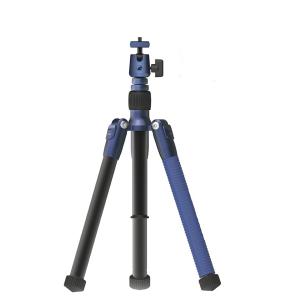 Momax - Tripod Hero Extendable Tripod Monopod Selfie Stick - Blue