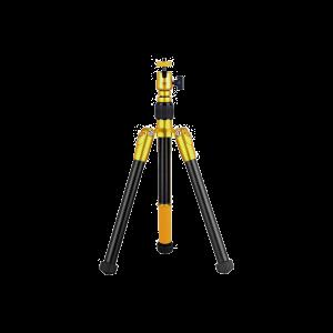 Momax - Tripod Hero Extendable Tripod Monopod Selfie Stick - Orange/Brown