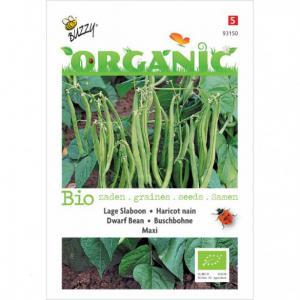 Buzzy Seeds - Organic Dwarf Beans Seeds - 777