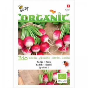 Buzzy Seeds Organic Radish Sparkler 2 - 777