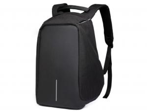 Access - Anti-Theft Backpack with USB Charging Port  - Black - AT001-BLCK