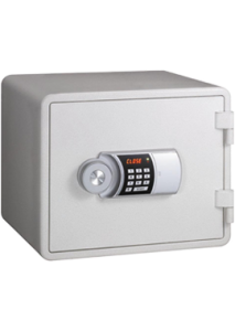 Eagle Compact Size Fire Resistant Safe White - YES-M020(WH)