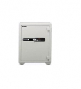 Eagle Compact Size Fire Resistant Safe White - YES-065K(RAL)