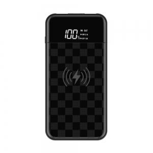 Devia Wireless Portable Power Bank 8000mAh - Black