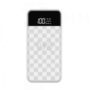 Devia Wireless Portable Power Bank 8000mAh - White