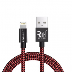 Revomech - ION Lightning Cable - 1.5m - Black&Red