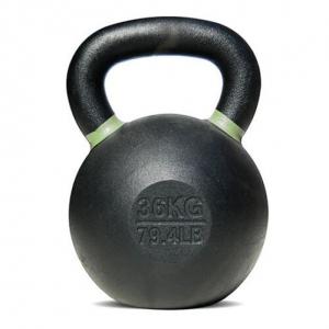 Pro Sports Powder Coated Cast Iron Kettlebell -  36 Kg