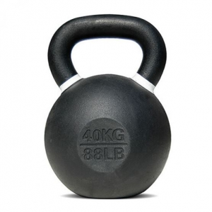 Pro Sports Powder Coated Cast Iron Kettlebell - 40 Kg
