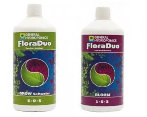 Flora Duo - FloraDuo Gro SW 1L + FloraDuo Gro BLOOM 1L