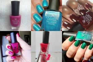 Bonita Salon Nail Paint NP528 + NP524 + NP384 + NP359 + NP335 + NP526