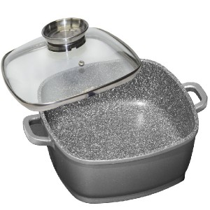 Wx 8645 Stoneline 24cm Square Pan
