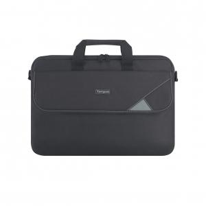 "Targus - Intellect 15.6"" Topload Laptop Case - Black/Grey"