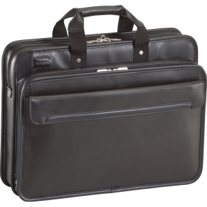 Targus -16 Inch Leather Laptop Case - Black
