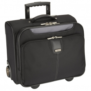 Targus - Transit Roller Case for 16 inch Laptop,iPad,Tablet - Black