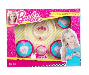Halsall - Barbie Sparkle Secret Locket