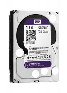 WD Purple 1TB Surveillance Hard Disk Drive - 5400 RPM Class SATA 6Gb/s 64MB Cache 3.5 Inch