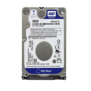 """WD Blue - 500GB - 5400 RPM 128MB Cache SATA 6.0Gb/s 2.5"""" Notebook Hard Drive WD5000LPCX"""