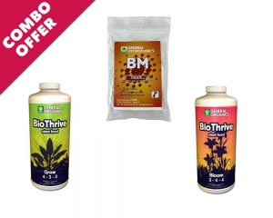 BioThrive	 - GH BM Microbe Culture + Go BioThrive Grow 1L + Go BioThrive Bloom 1L