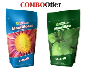 Maxi Series - Maxi Grow 1Kg + Maxi Bloom 1KG - General Hydroponics
