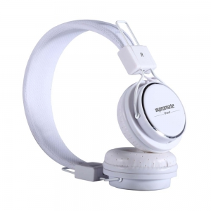 Promate Vent Trendy In-Line Headphones with Built-In Microphone - White
