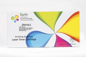 Eprint Compatible Toner Cartridge - CF411A  Cyan