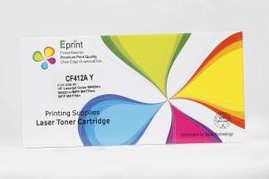 Eprint Compatible Toner Cartridge - CF412A  Yellow