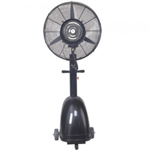 Orca 3 Blades Industrial Mist Fan - Black