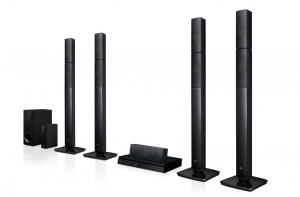 LG Home Theater 5.1Ch, 1000W, HDMI output System - LHB655N
