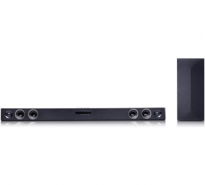 LG SJ3 300-Watt 2.1 Channel Sound Bar with Wireless Subwoofer