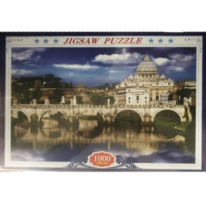 Prosports - 1000 Pieces Jigsaw Puzzle - Mosque by the Bridge