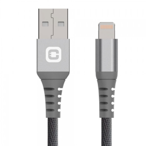 Chargeaid -   Lightning Cable 20cm - Gray