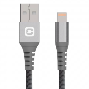 Chargeaid - Lightning Cable 2M Gray