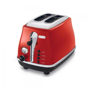 DeLonghi Toaster 900W- 2 Slice - Red