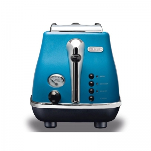 DeLonghi Toaster - 900W - 2 Slices - Blue