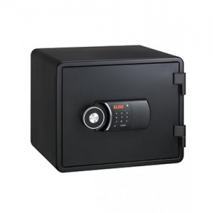 Eagle Compact Size Fire Resistant Safe Black - YES-M020(BK)
