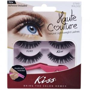 Kiss Haute Couture Duo Pack Lashes- Flirt - K-KHLD02GT
